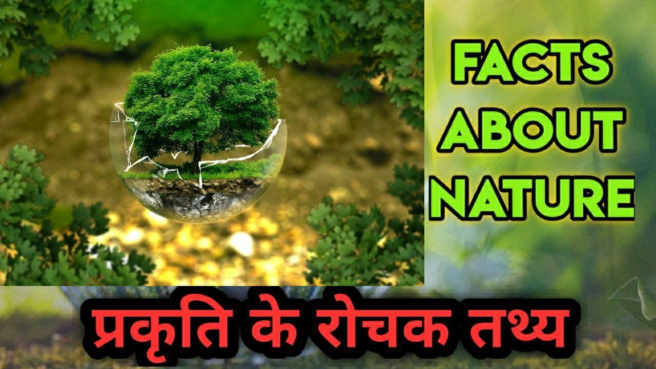प्रकृति के बारे में 100 रोचक तथ्य | 100 Amazing Nature Facts in Hindi